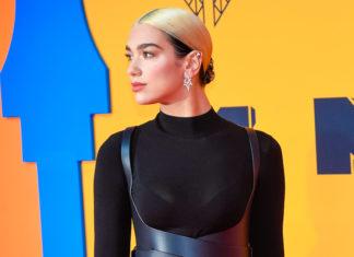 Dua Lipa at the MTV EMAs 2019