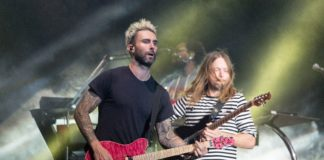 Maroon 5 at the BottleRock Napa Valley Festival in 2017.