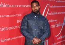 Kanye West at the Fashion Group International's Night of Stars Gala in 2019.